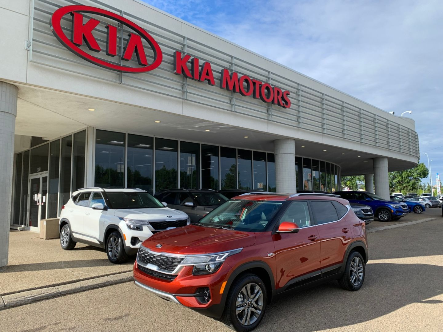 2021 Kia Seltos EX for sale in Edmonton, Alberta