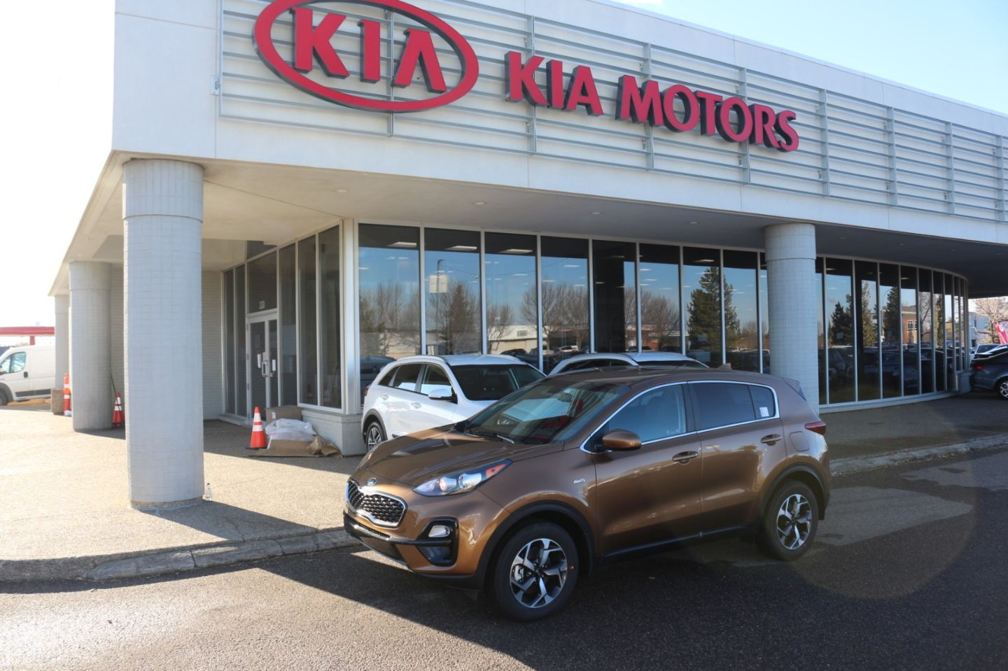 2021 Kia Sportage LX for sale in Edmonton, Alberta
