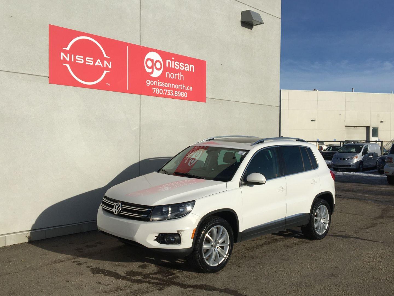 2012 Volkswagen Tiguan Highline for sale in Edmonton, Alberta