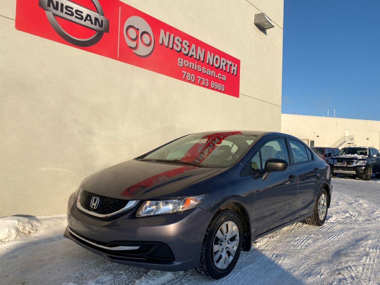 2015 Honda Civic Sedan DX for sale in Edmonton, Alberta