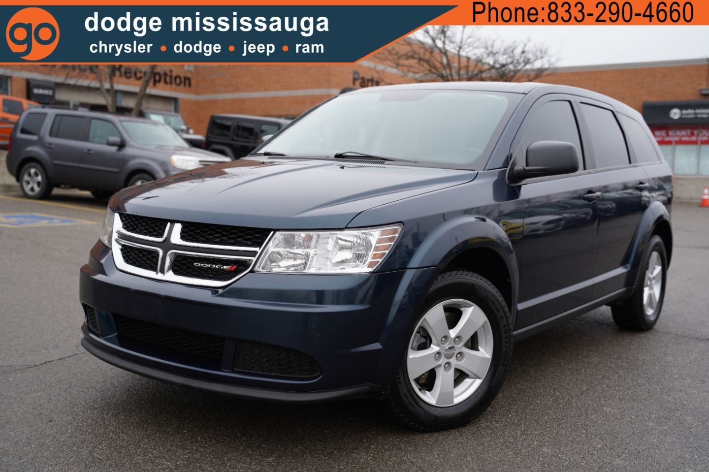 2014 Dodge Journey Canada Value Pkg for sale in Mississauga, Ontario