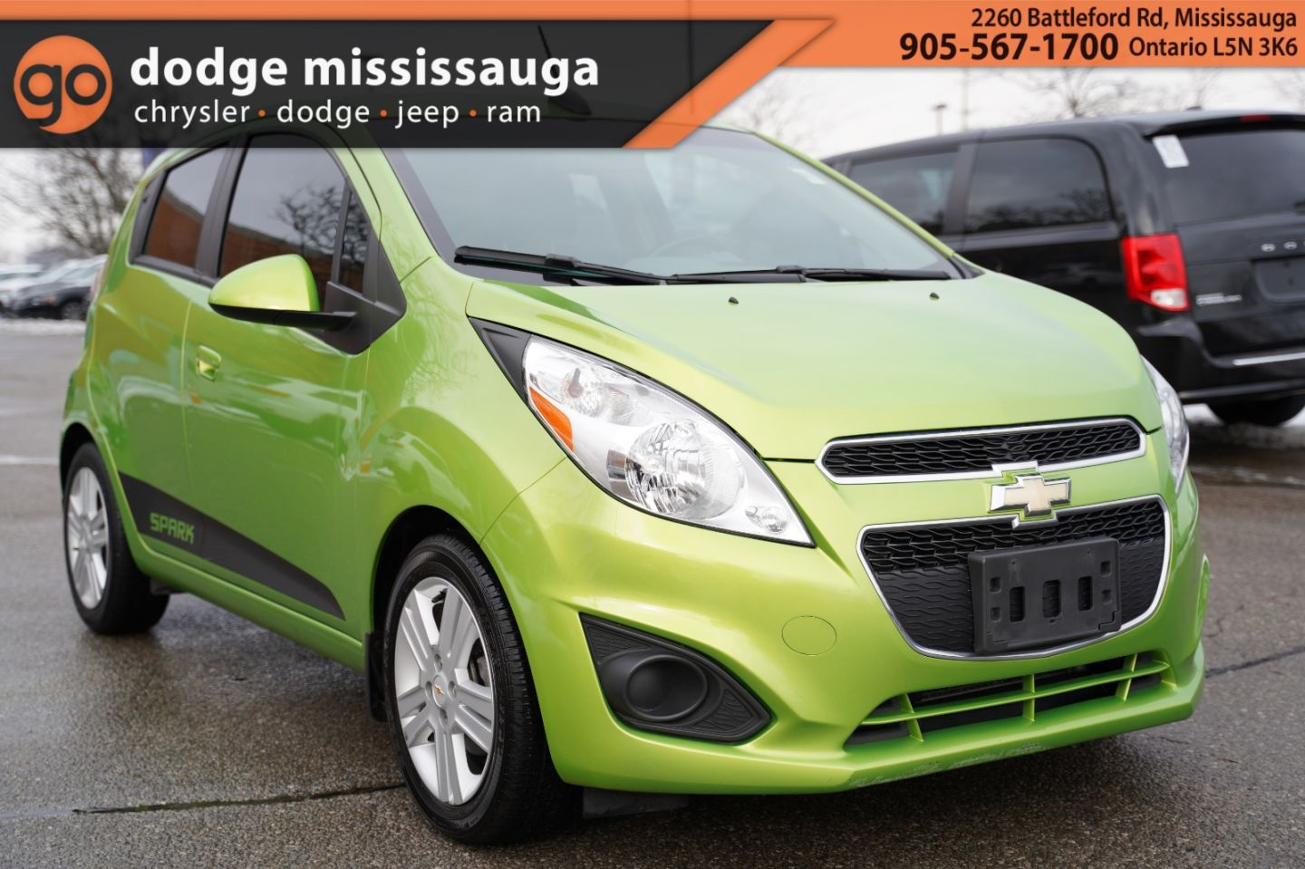 2015 Chevrolet Spark LT for sale in Mississauga, Ontario