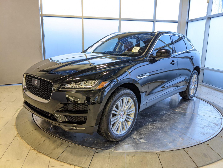 New 2020 Jaguar F Pace Portfolio J01713 Edmonton Alberta Go Auto