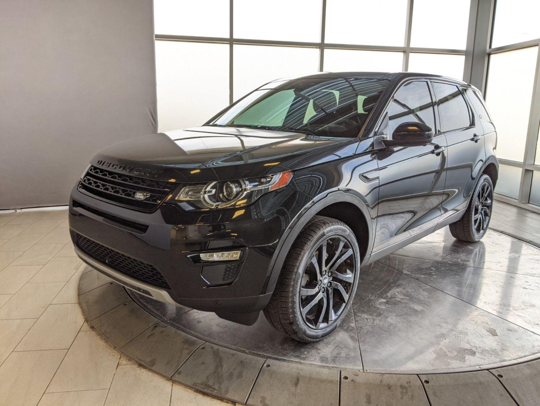 Used 2015 Land Rover Discovery Sport Hse Luxury Pn995a Edmonton Alberta Go Auto