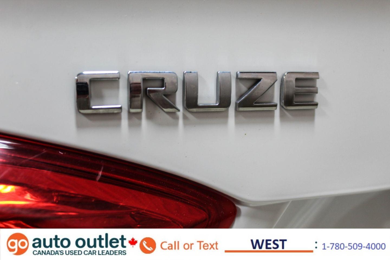 2016 Chevrolet Cruze LT for sale in Edmonton, Alberta