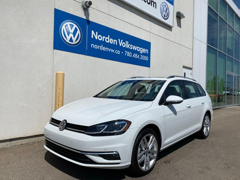 2019 Volkswagen Golf SportWagen Execline for sale in Edmonton, Alberta