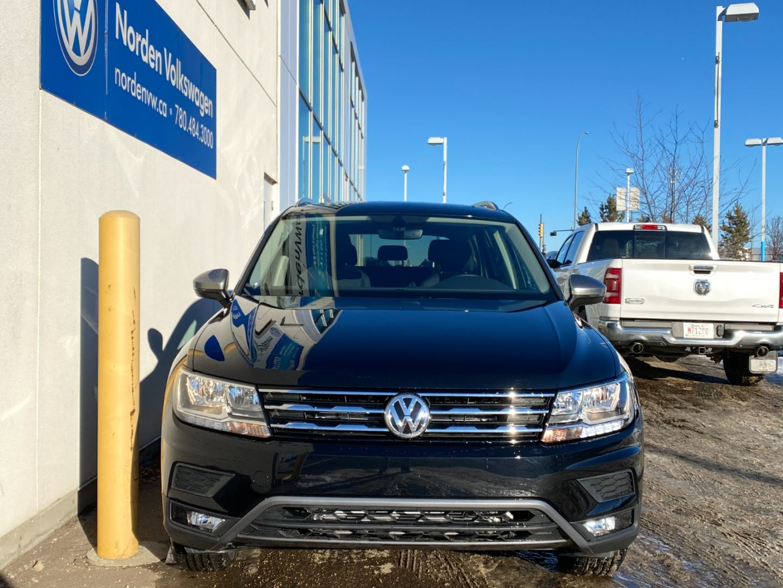 New 2021 Volkswagen Tiguan Comfortline 21TI5061 | Edmonton ...
