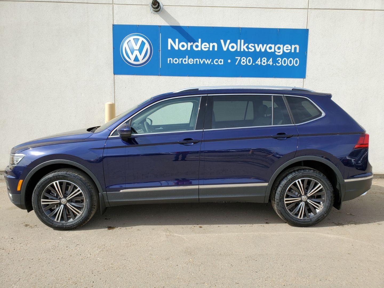 2021 Volkswagen Tiguan Highline for sale in Edmonton, Alberta
