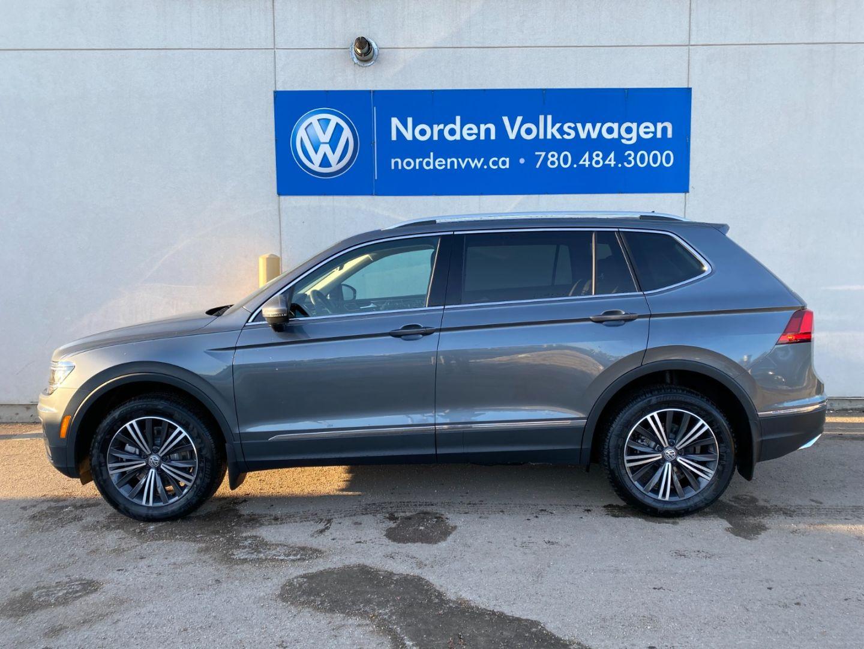 New 2021 Volkswagen Tiguan Highline 21TI9513 | Edmonton ...
