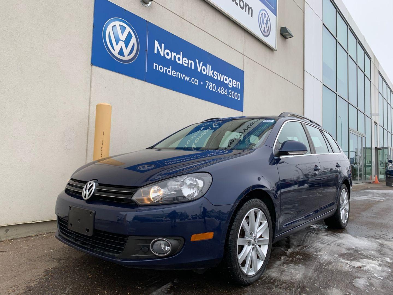 2013 Volkswagen Golf Wagon Highline for sale in Edmonton, Alberta