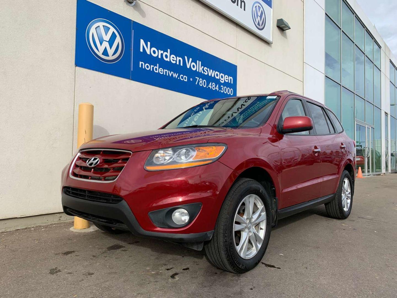 2011 Hyundai Santa Fe Limited for sale in Edmonton, Alberta