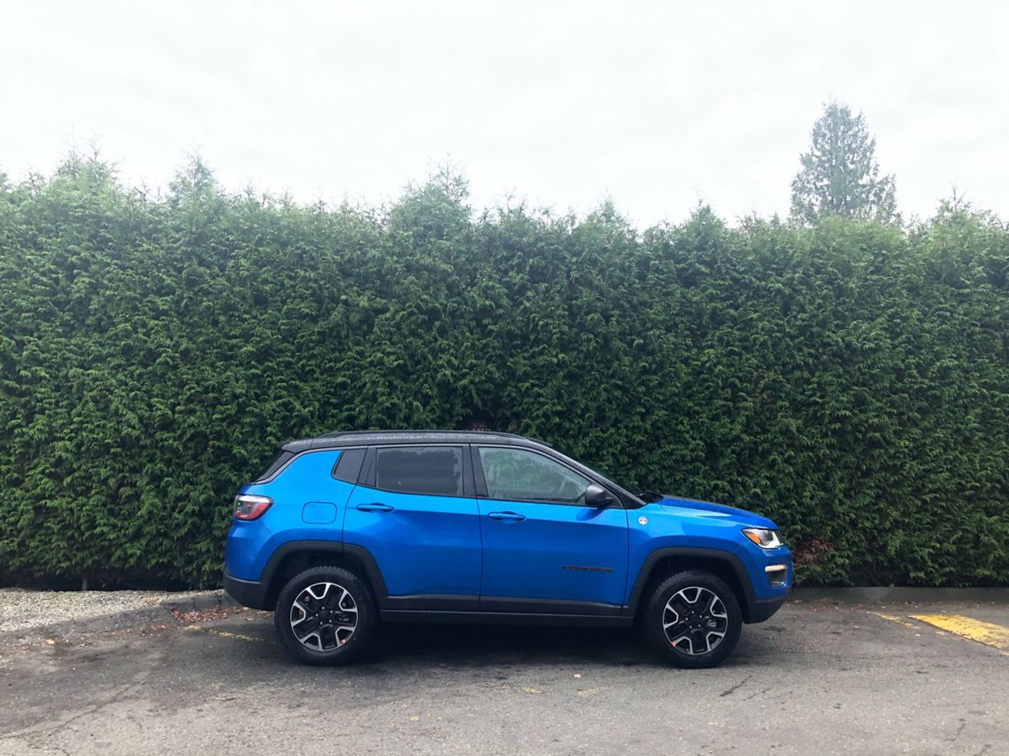 2020 Jeep Compass Trailhawk for sale in Surrey, British Columbia