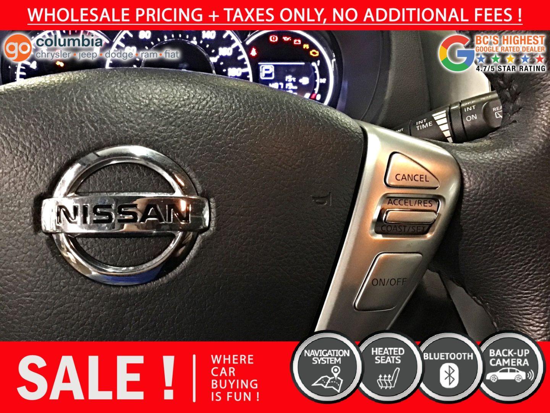 2016 Nissan Versa Note SL for sale in Richmond, British Columbia