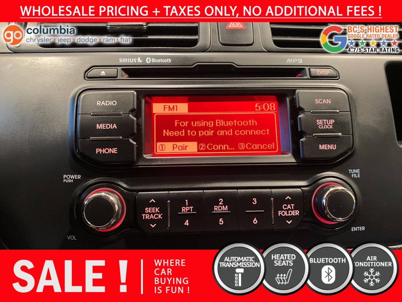 2013 Kia Rio LX+ for sale in Richmond, British Columbia