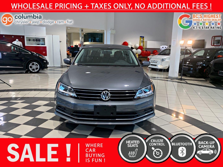 2017 Volkswagen Jetta Sedan Trendline+ for sale in Richmond, British Columbia