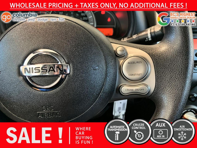 2017 Nissan Micra S for sale in Richmond, British Columbia