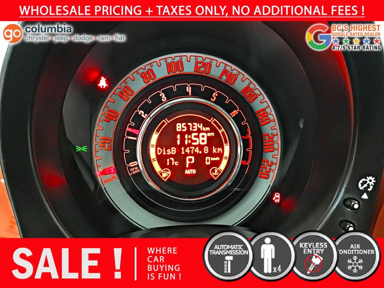 2014 FIAT 500 Pop for sale in Richmond, British Columbia
