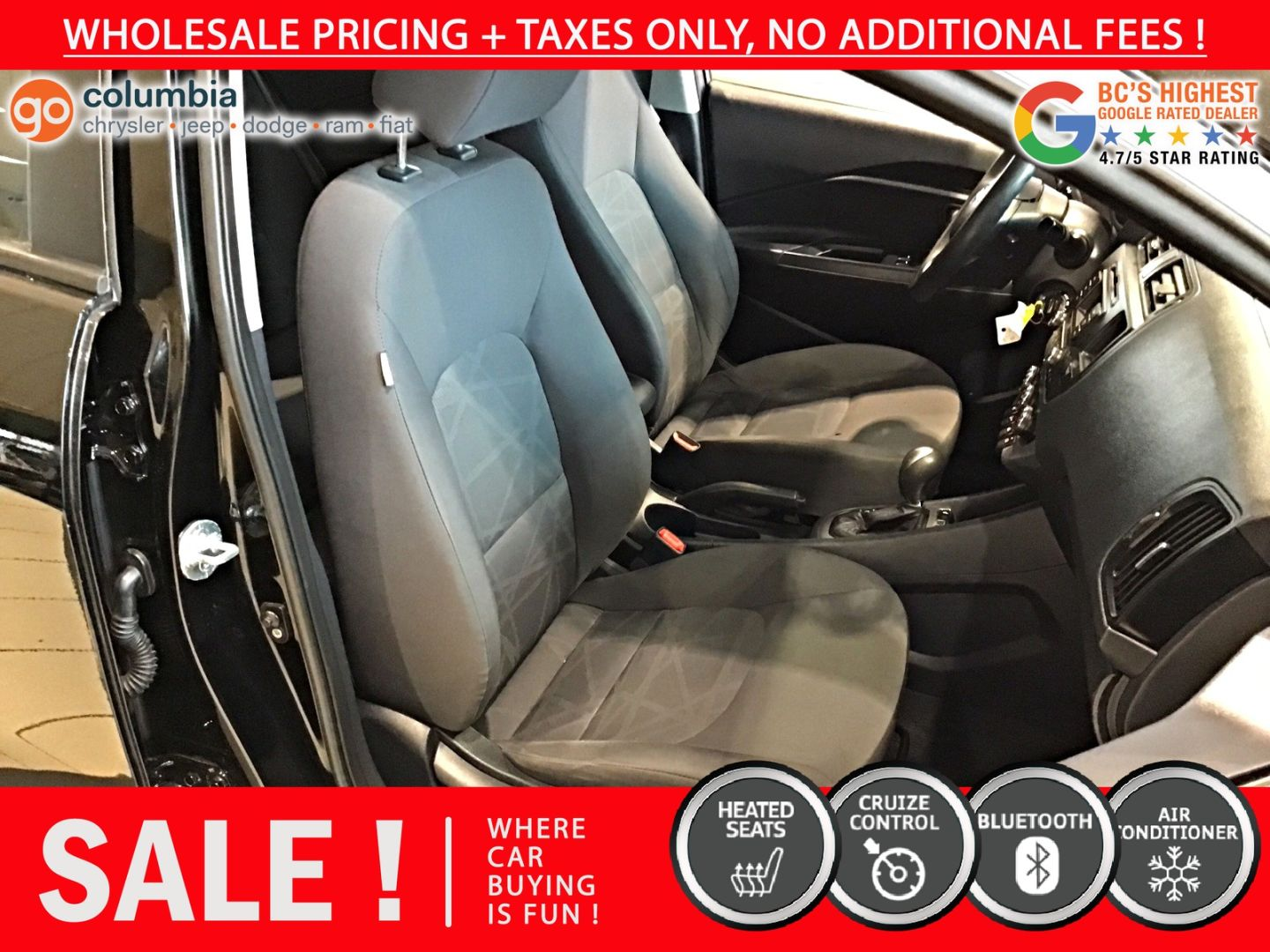 2013 Kia Rio LX+ ECO for sale in Richmond, British Columbia