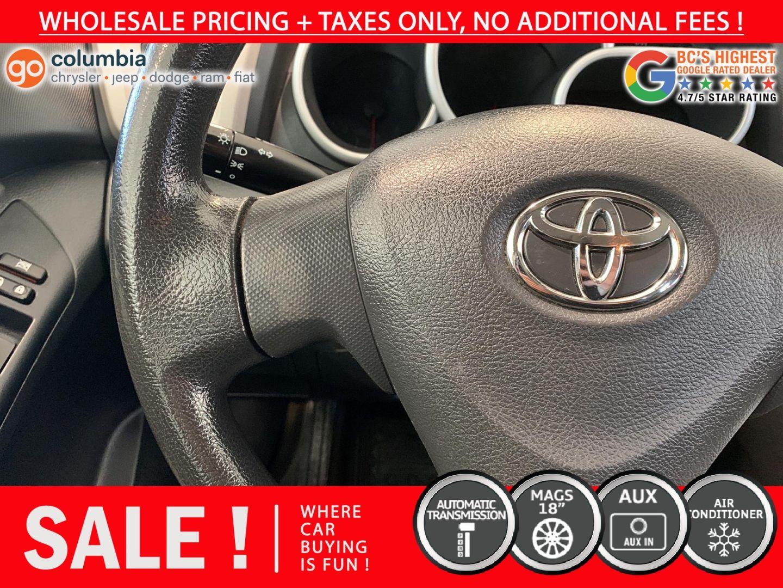 2010 Toyota Matrix  for sale in Richmond, British Columbia