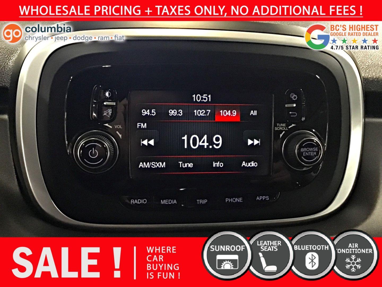 2016 FIAT 500X Trekking for sale in Richmond, British Columbia