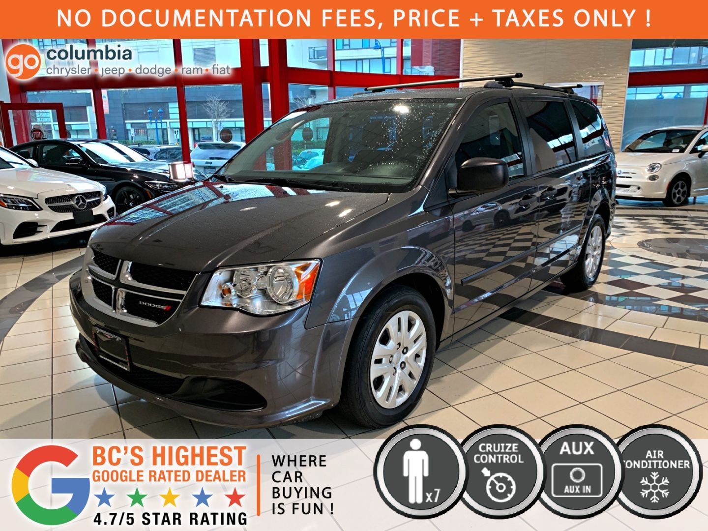 2016 Dodge Grand Caravan Canada Value Package for sale in Richmond, British Columbia