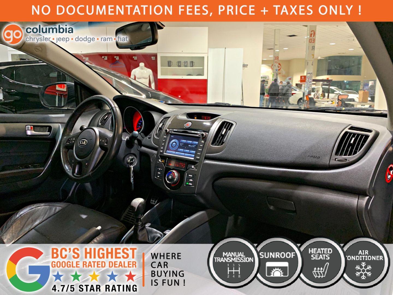 2012 Kia Forte Koup SX for sale in Richmond, British Columbia