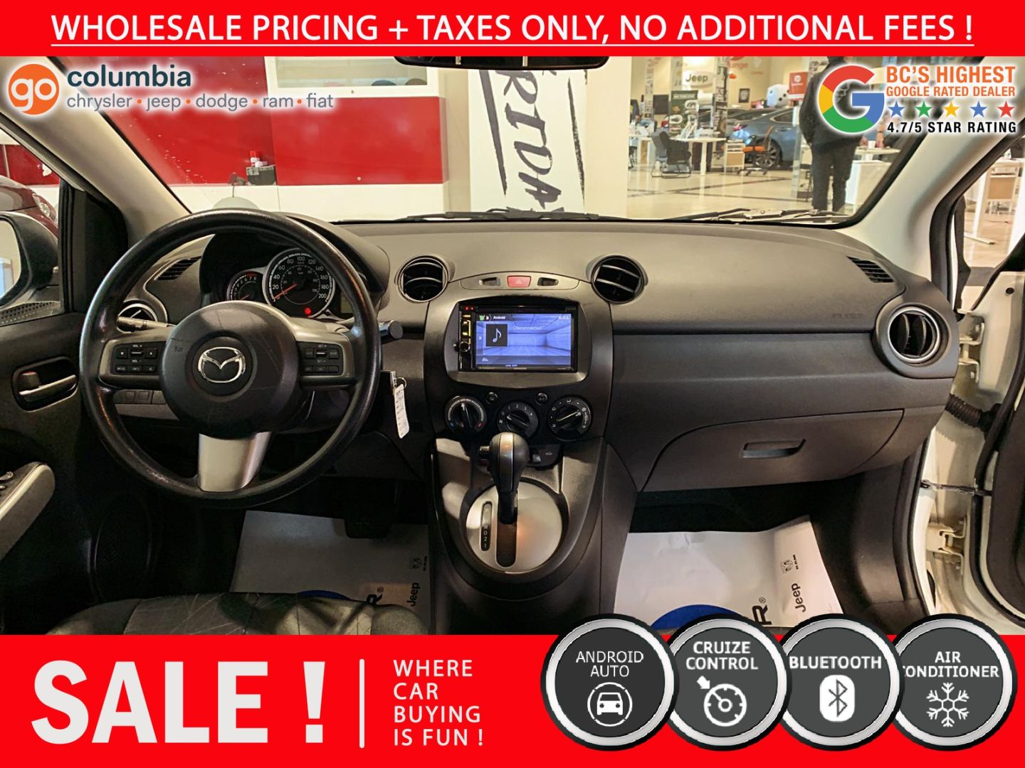 2014 Mazda Mazda2 GX for sale in Richmond, British Columbia
