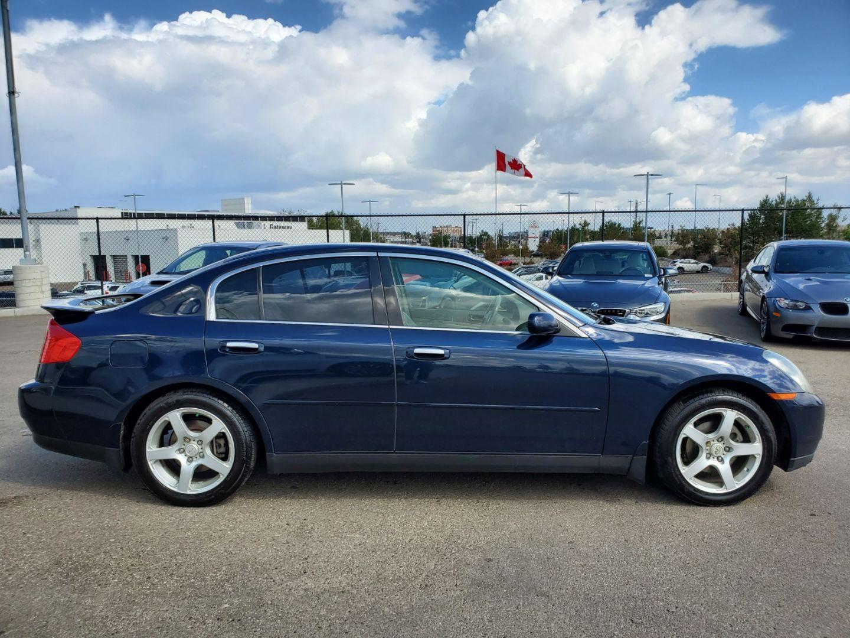 2004 INFINITI G35 Sedan w/Leather for sale in Edmonton, Alberta