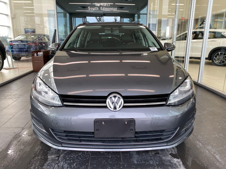 2015 Volkswagen Golf Sportwagon Comfortline for sale in Edmonton, Alberta