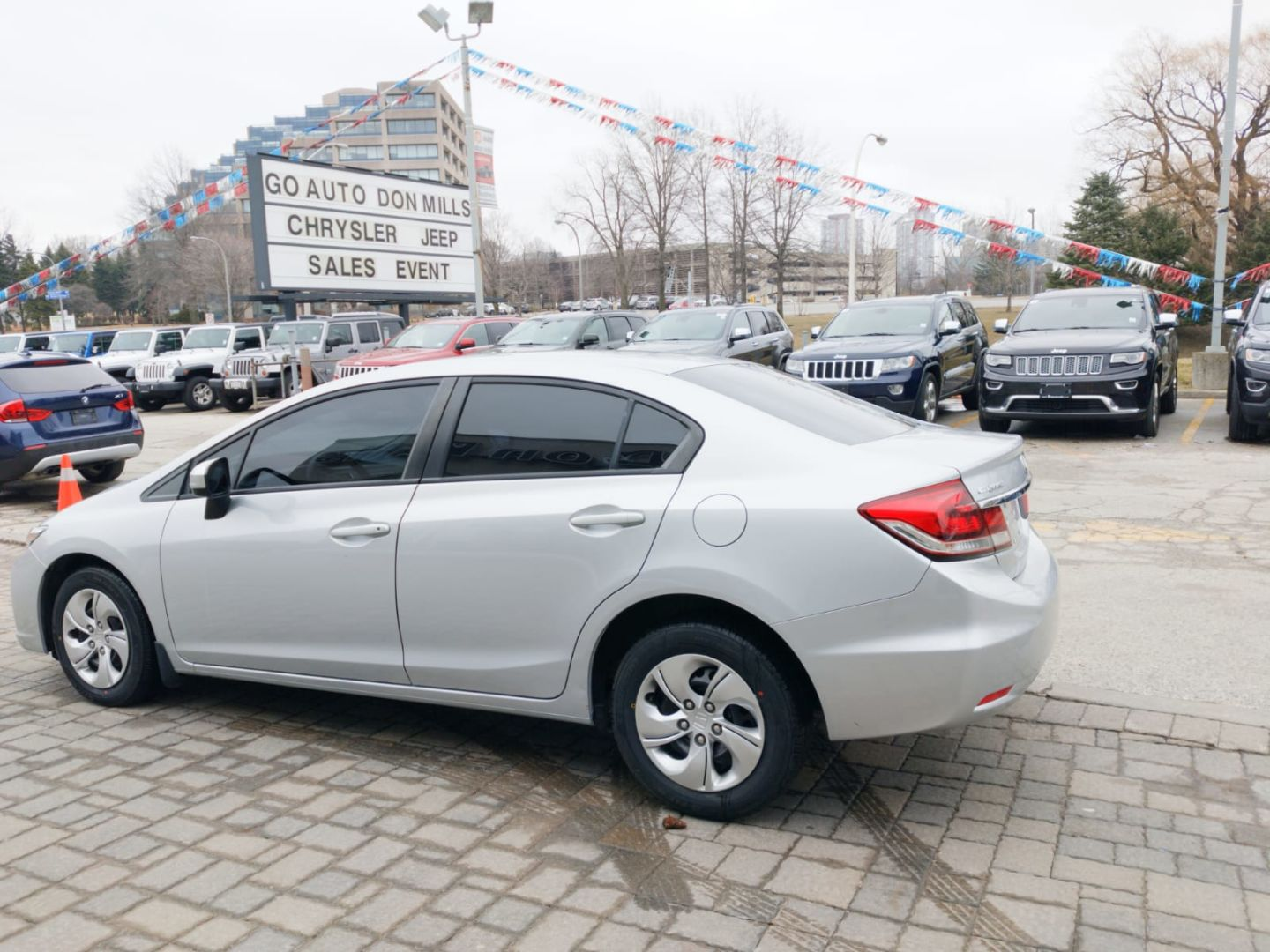 2015 Honda Civic Sedan LX for sale in Toronto, Ontario