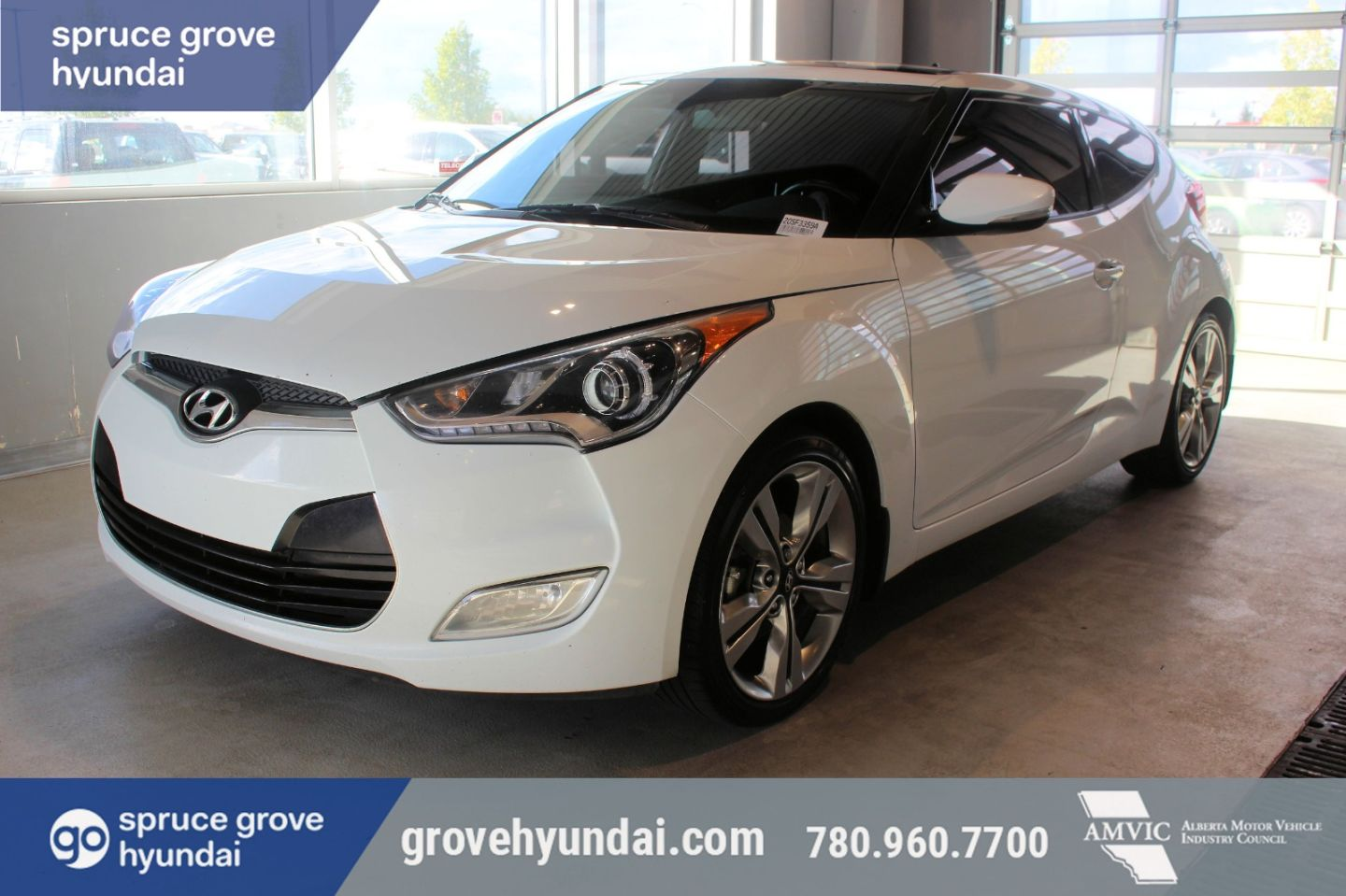 2017 Hyundai Veloster Tech for sale in Spruce Grove, Alberta