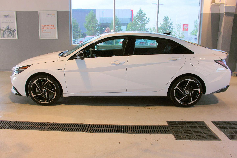 2022 Hyundai Elantra N Line for sale in Spruce Grove, Alberta