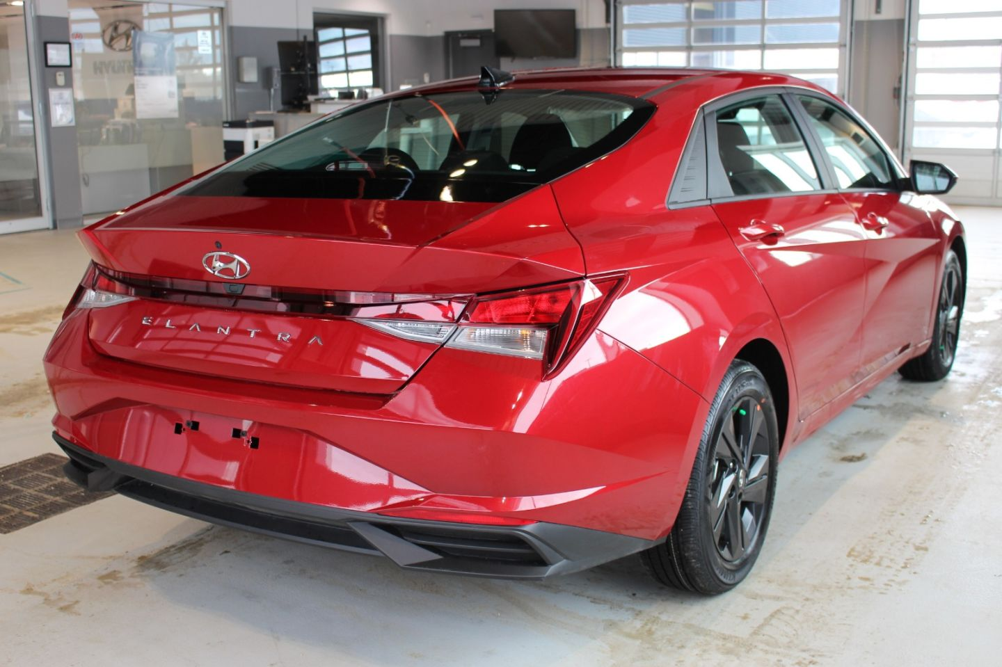 2021 Hyundai Elantra Preferred w/Sun & Tech Package for sale in Spruce Grove, Alberta