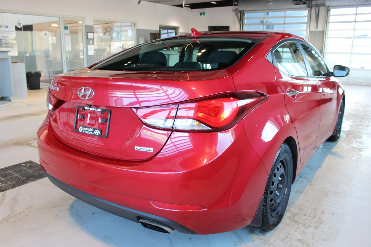 2014 Hyundai Elantra Limited w/Navi for sale in Spruce Grove, Alberta