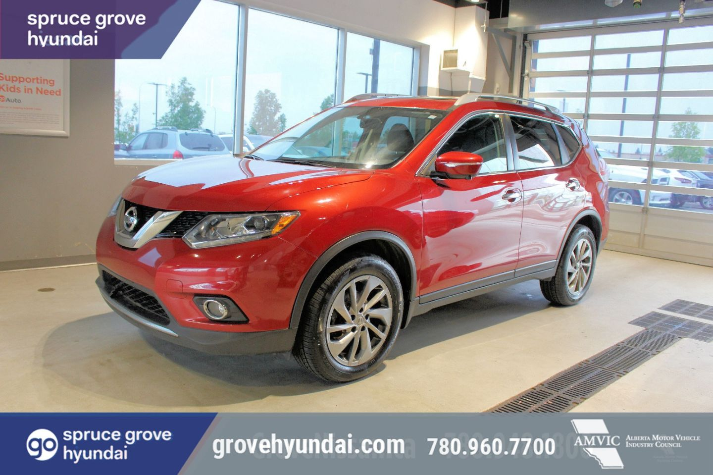 2015 Nissan Rogue SL for sale in Spruce Grove, Alberta