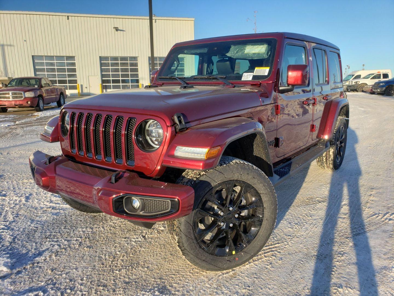 New 2021 Jeep Wrangler High Altitude 21j0707 Red Deer Alberta Go Auto