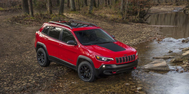 2021 Jeep Cherokee Trailhawk for sale in Red Deer, Alberta