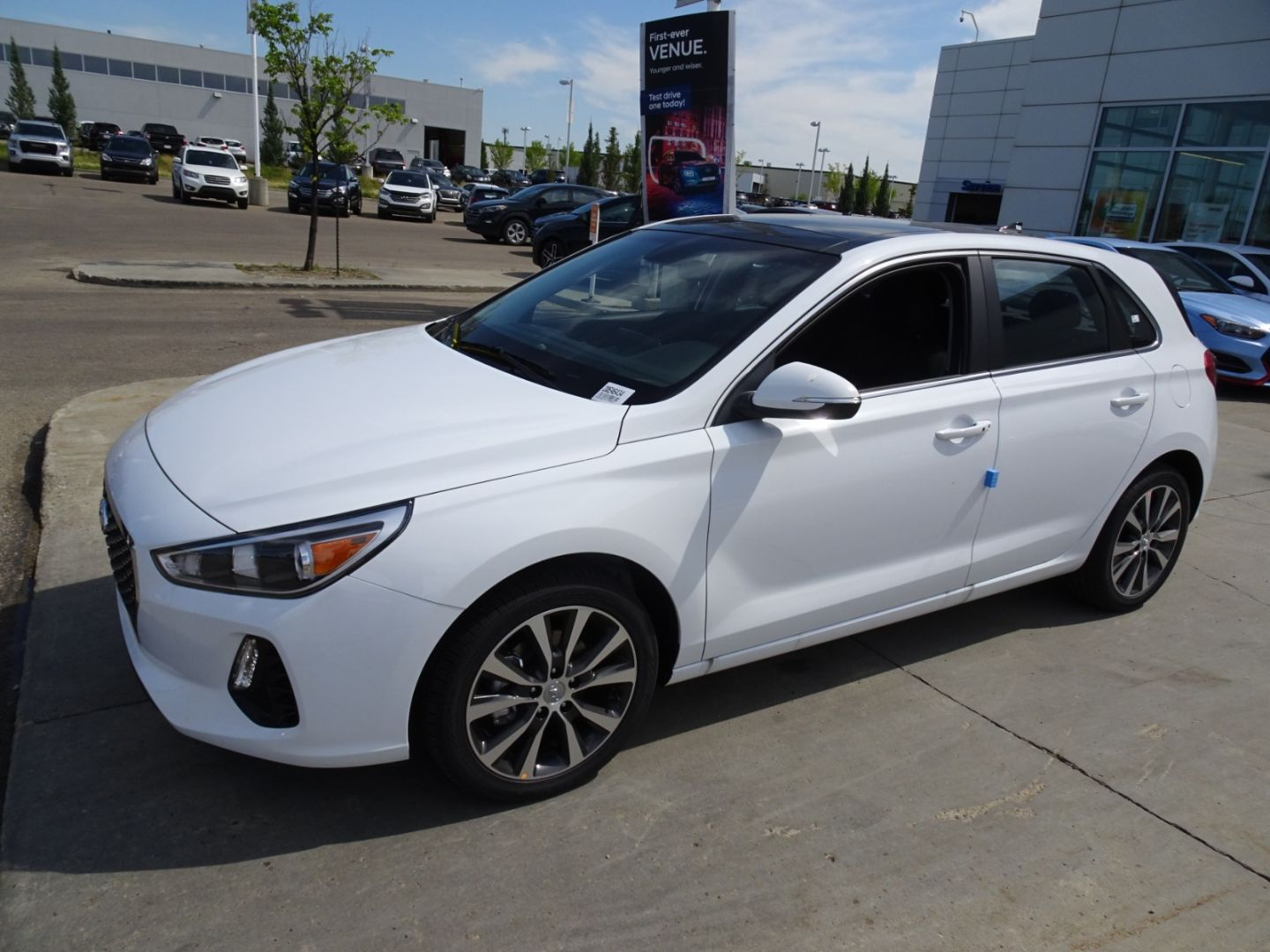 2020 Hyundai Elantra GT Luxury for sale in Edmonton, Alberta