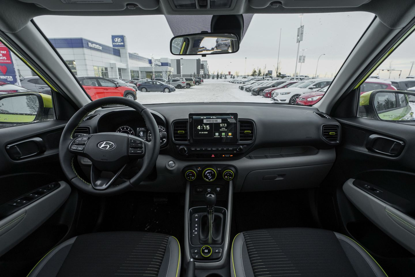 2020 Hyundai Venue Trend w/Urban Pkg/Grey-Lime Interior for sale in Edmonton, Alberta