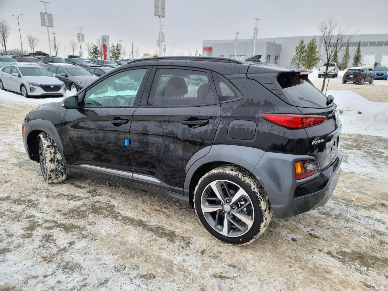 New 2021 Hyundai Kona Ultimate 21KO2182 | Edmonton Alberta ...