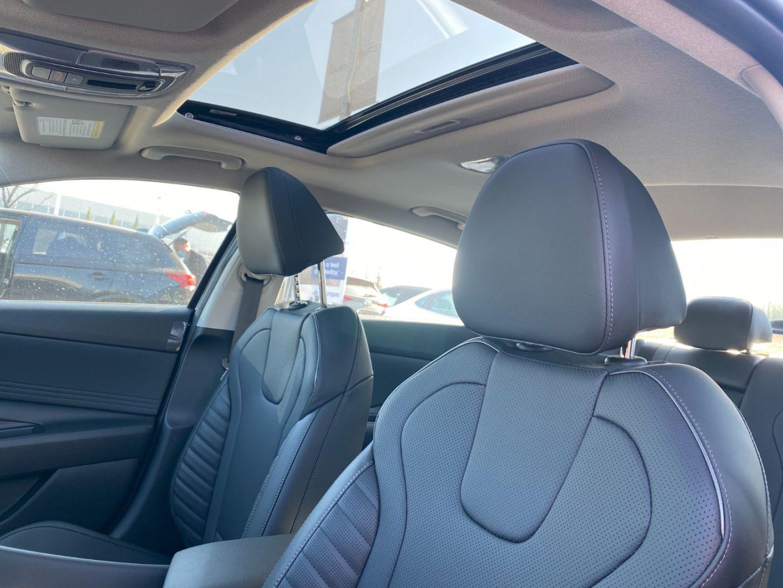 2022 Hyundai Elantra Hybrid Ultimate for sale in Edmonton, Alberta