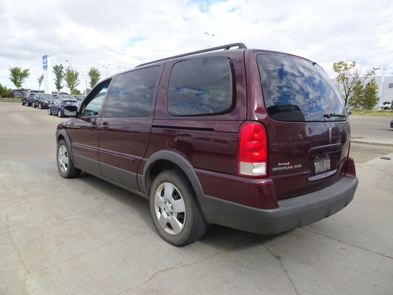 2008 Pontiac Montana SV6 w/1SB for sale in Edmonton, Alberta
