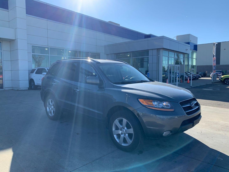 2009 Hyundai Santa Fe Limited for sale in Edmonton, Alberta