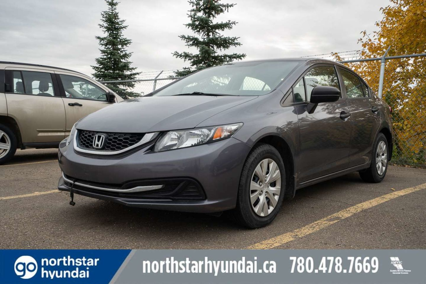 2014 Honda Civic Sedan DX for sale in Edmonton, Alberta