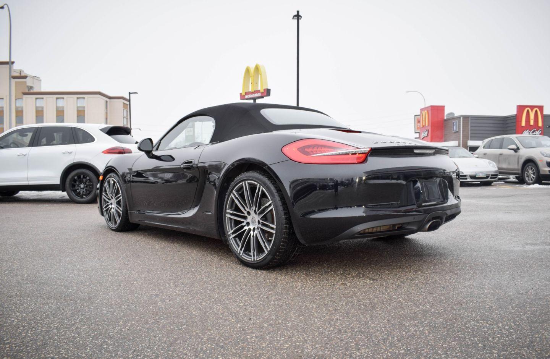 Used 2016 Porsche Boxster Black Edition 219298b Winnipeg Manitoba Go Auto
