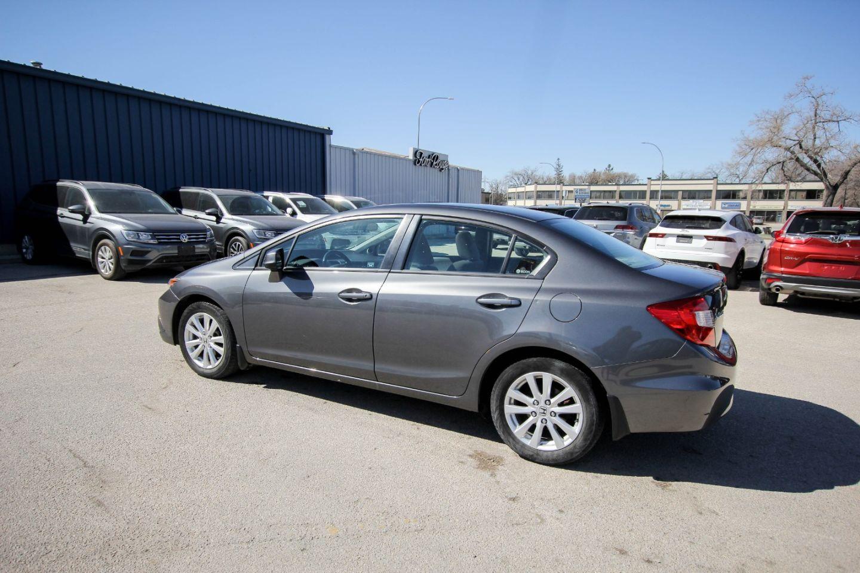 2012 Honda Civic Sdn EX for sale in Winnipeg, Manitoba