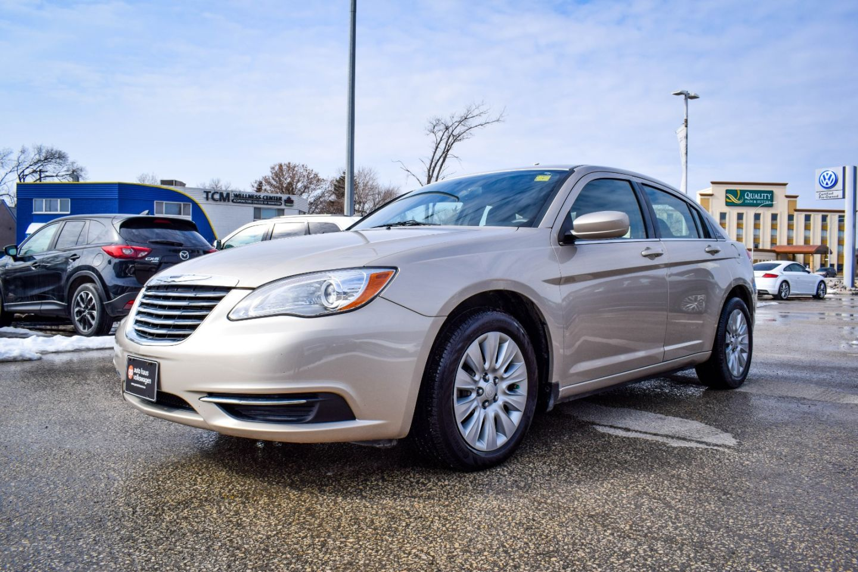 2013 Chrysler 200 LX for sale in Winnipeg, Manitoba
