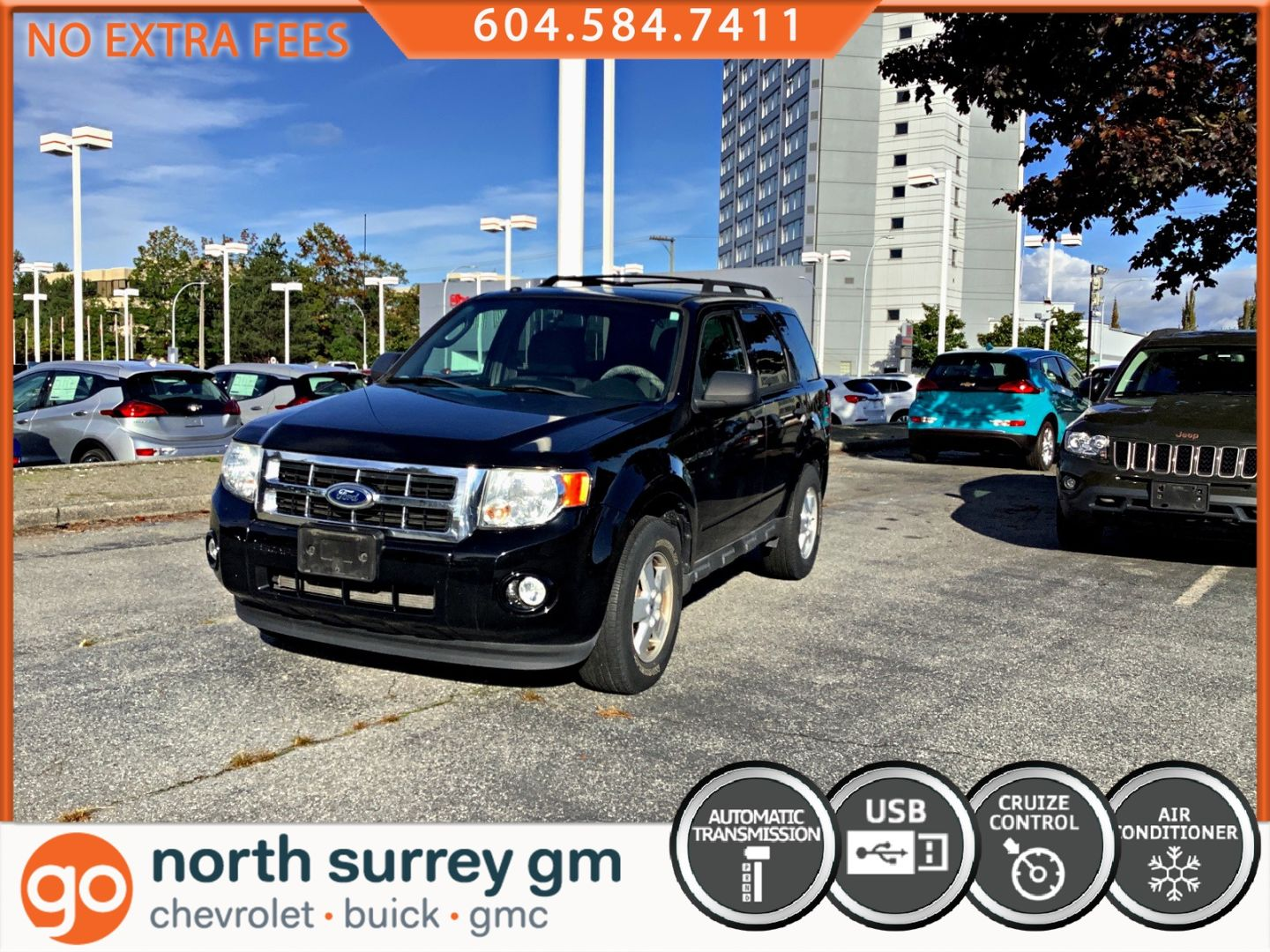 2010 Ford Escape XLT for sale in Surrey, British Columbia