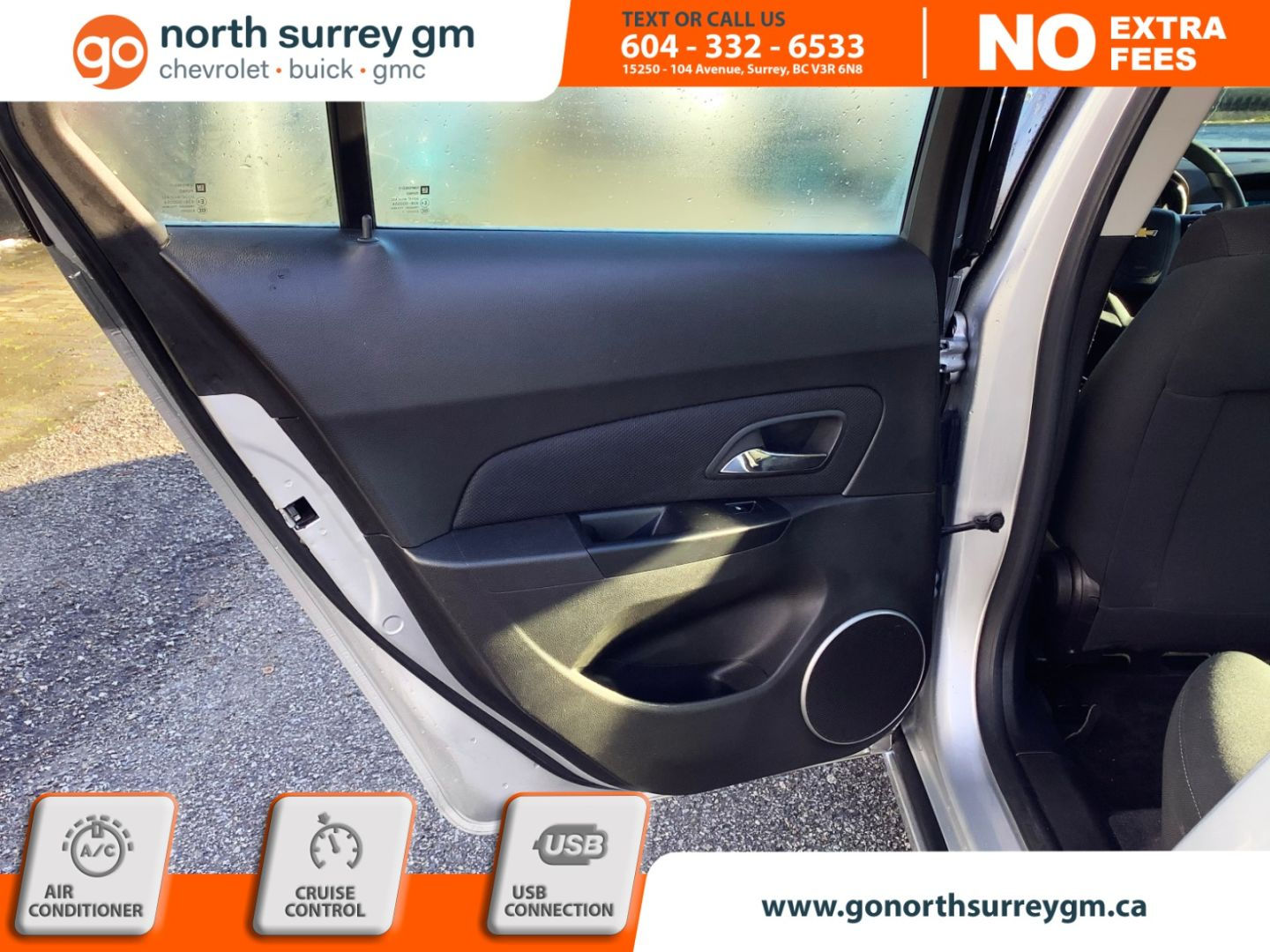 2012 Chevrolet Cruze LT Turbo w/1SA for sale in Surrey, British Columbia