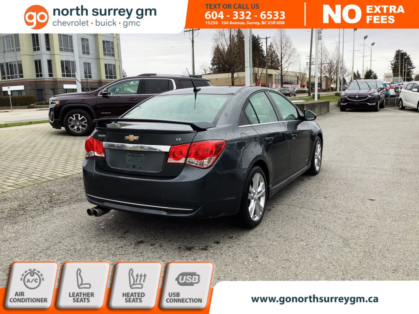 2013 Chevrolet Cruze LT Turbo for sale in Surrey, British Columbia